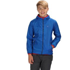 Regatta Lever II Waterproof Shell Jacket Kids, oxford blue/pepper
